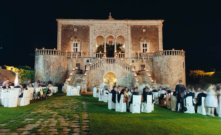 country castle wedding Puglia