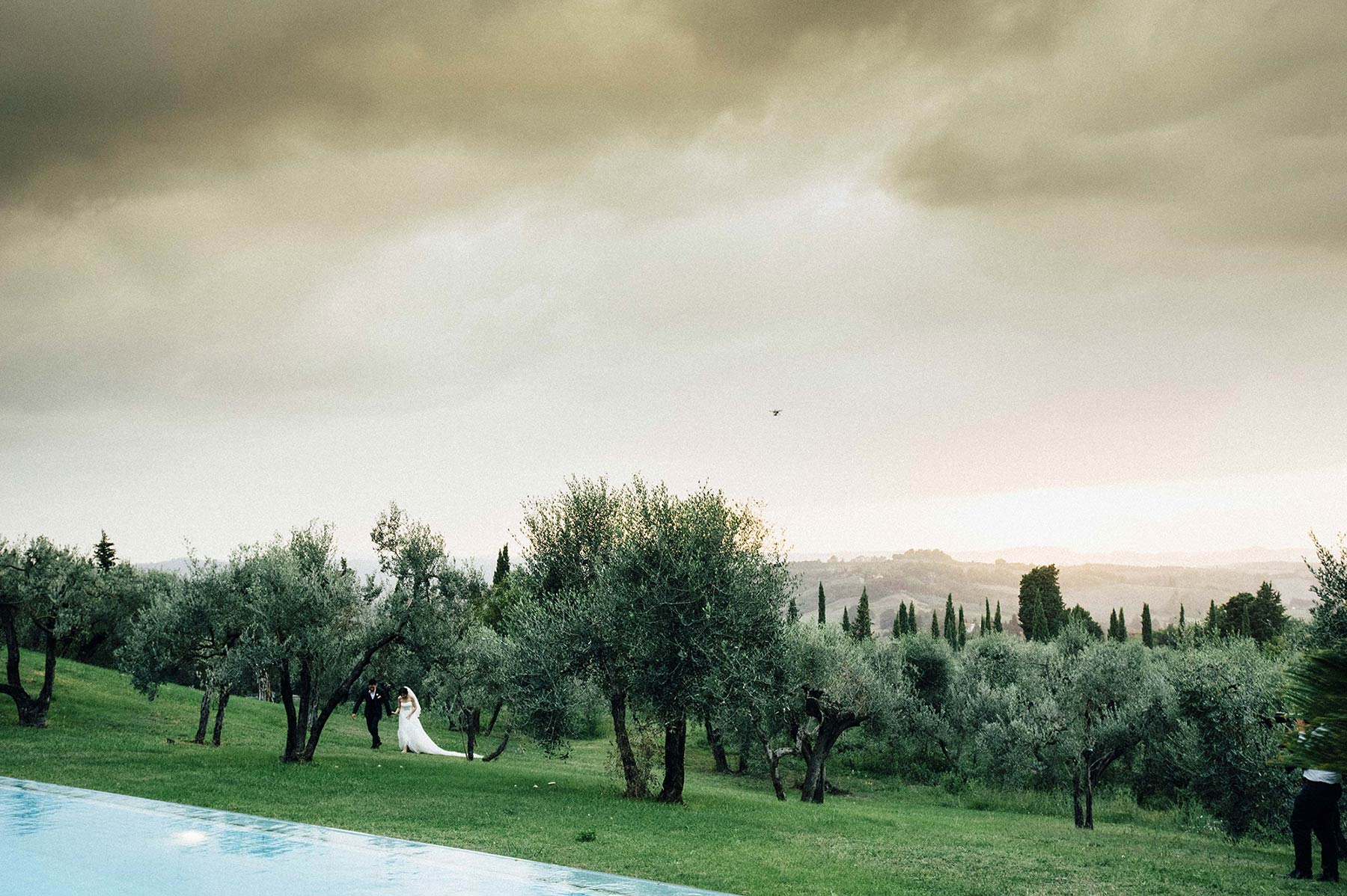 countryside wedding in Chianti Tuscany