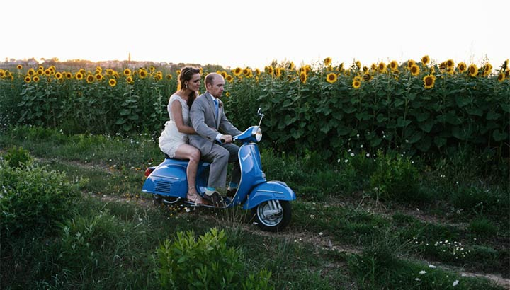 country wedding in Tuscany