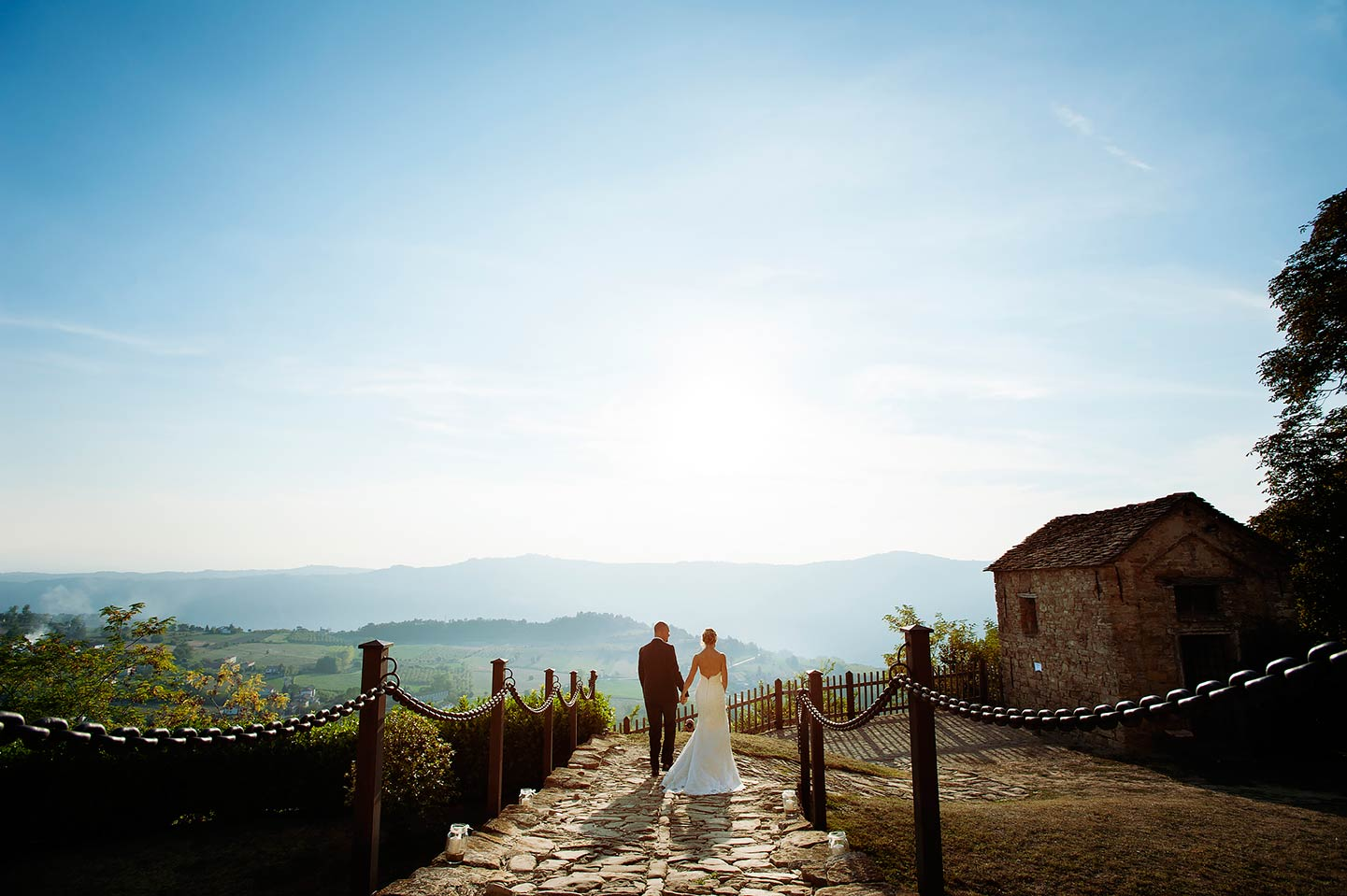 countryside wedding in Tuscia