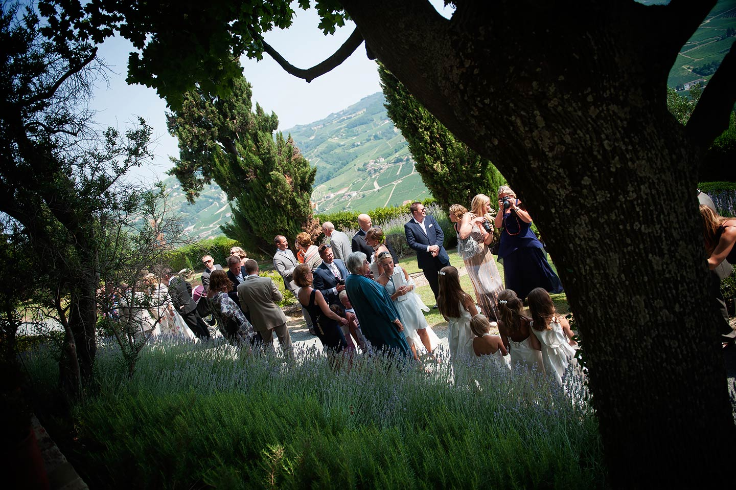 countryside wedding in Umbria