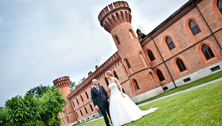 castle wedding in Langhe Italy