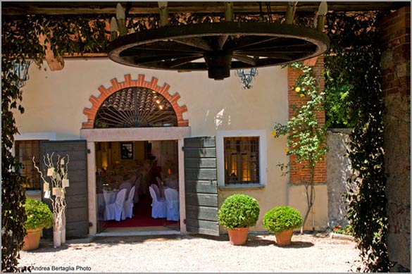 The Abbazia now is a wonderful venue for elegant country weddings
