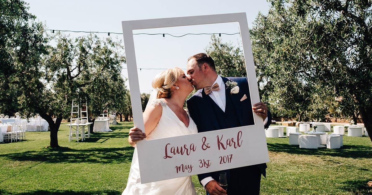 Romantic Wedding Among Apulian Olive Trees