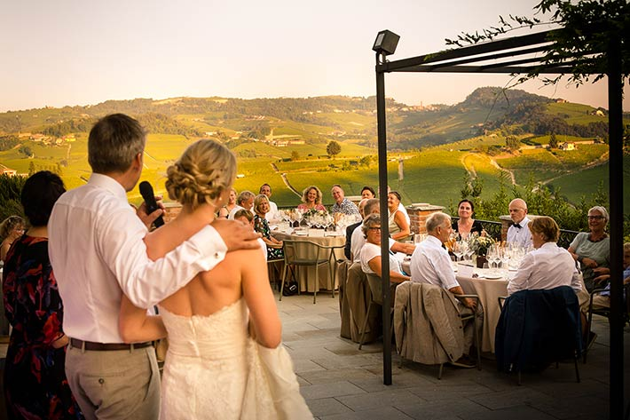 wedding in the land of Barolo wine